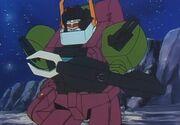 Transformers Headmasters Scorponok with Shield
