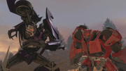 Cliffjumper vs vechicons