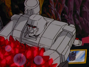 Megatron in ruby mines