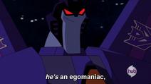 Thundercracker's an egomaniac