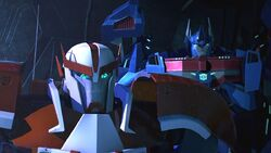 Rebellion screenshot Ratchet and Ultra Magnus