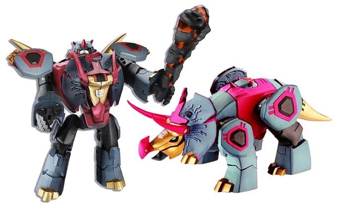 Transformers Animated Snarl Dinobot Hasbro