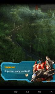 Transformers Rising Aerial Assault Superion Talks