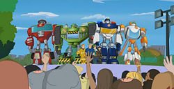 250px-FamilyOfHeroes Chief Burns introduces Rescue Bots