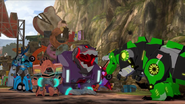 Grimlock roar to Steeljaw's Pack