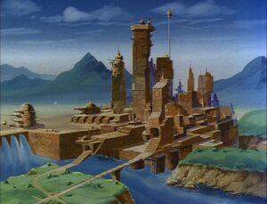FFOD5 Autobot City