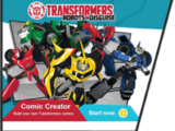 Robots in Disguise Comic Creator