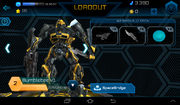 Transformers Battle Game Bumblebee v1
