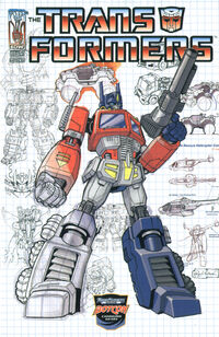 Transformers Infiltration Issue 0 Cover