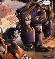 Transformers Prime Issue 4 Breakdown Appears