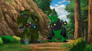 Grimlock and Bulkhead in the Forest