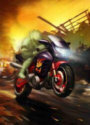 Transformers Legends Flamewar Vehicle Mode