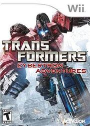 230px-Transformers Cybertron Adventures Cover Art