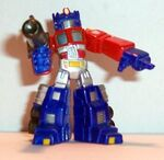 Robot Hero Supermetal Optimus Prime