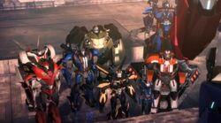 Autobots Predacons rising