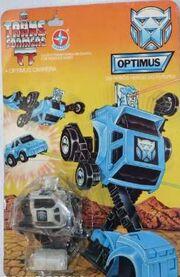 Estrela Cliffjumper Optimus Carded