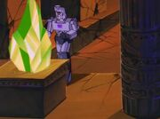 Fire on the Mountain Megatron with the Power Crystal