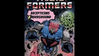Decepticons Underground by John Grant - 1988 Transformers Audiobook
