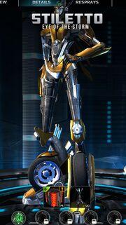 Transformers Universe Stiletto Robot Mode