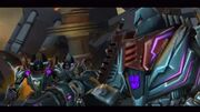 Cybertron Adventures Decepticon Mission 1 Megatron Starscream and Skywarp