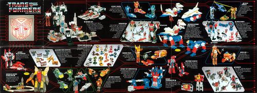 Transformers 1986 USA Catalog Autobots