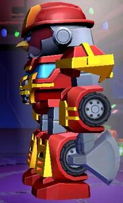 Angry Birds Transformers Heatwave Features