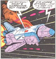 Space Pirates 4 Astrotrain in Space