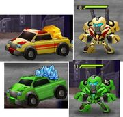 Transformers Frontiers Truck Autobots