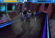 Rise of the Dark Spark 3DS Megatron Fighting