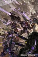 Transformers War For Cybertron Decepticons