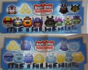 Confitrade Angry Birds Transformers Collection