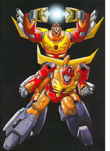 Hot Rodimus and Rodimus Convoy 2010 DVD cover 1