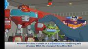 Rescue Bots Dino Island Heaswave scans