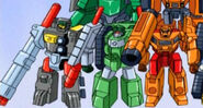Wreckage, Bonecrusher and Knock Out (Vow)