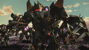 Armada screenshot Insecticon stand
