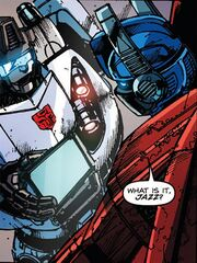 Fall of Cybertron Part 1 Jazz Tells Optimus About Grimlock