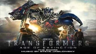 Transformers 4 The Score - Dinobot Charge