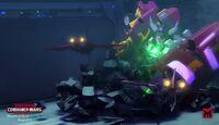 Combiner Wars Episode 1 Windblade and Maxima Fight Menasor