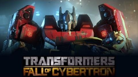 Transformers Fall of Cybertron (The Movie-Full Length) HD
