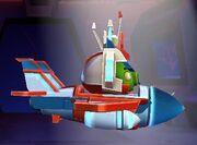 Angry Birds Transformers Energon Starscream Vehicle Mode