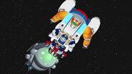 Heatwave, Chase ja Blades avaruudessa