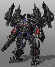Jet power Optimus Prime