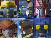 Cybertron Cast