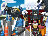 Thundercracker, Ransack and Crumplezone