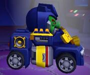 Angry Birds Transformers Soundwave Vehicle Mode