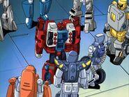 Firebot Autobottien Miniconien kanssa.