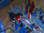 Fire in the Sky Decepticons and Jetfire