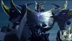 Megatron tells off Starscream