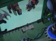 Transformers Animated Megatron Instructs Dinobots