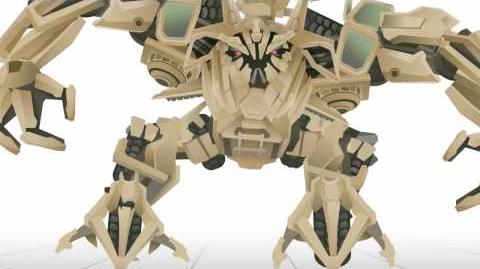 BONECRUSHER Transform - Short Flash Transformers Series